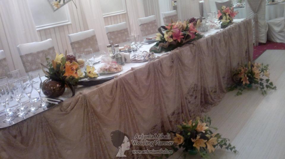 Nunta Complex Europa, sala de jos